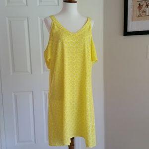 Divided H&M Cold Shoulder Dress Size 12